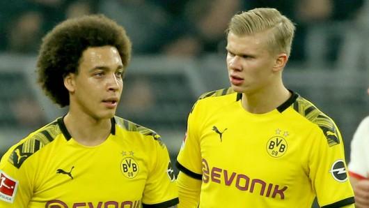 Borussia Dortmund muss am Samstagnachmittag in Wolfsburg auf Axel Witsel verzichten.