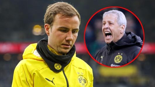 Mario Götze kommt bei Borussia Dortmund derzeit einfach nicht zum Zug.