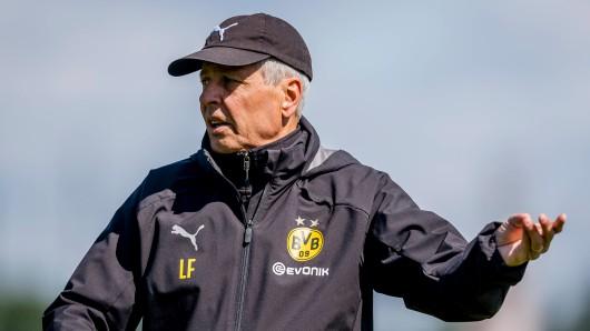 Tritt Lucien Favre bei Borussia Dortmund zurück? Jetzt spricht der BVB-Trainer!