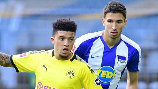 Borussia Dortmund - Hertha BSC im Liveticker: Sancho sorgt beim BVB für die Akzente.