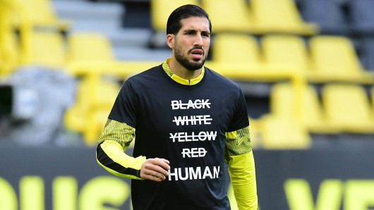 Borussia Dortmund setzt ein Zeichen gegen Rassismus.