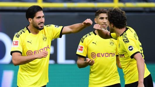 Emre Can spielt bei Borussia Dortmund gerne auf seiner neuen Position.