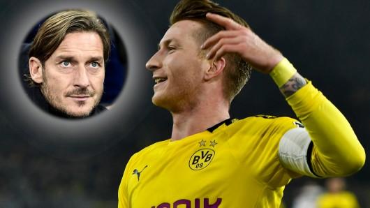 Borussia Dortmund: Marco Reus feiert sein Trainings-Comeback mit einer Frisur wie Francesco Totti.