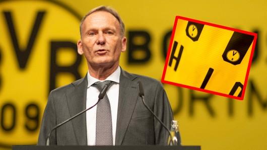 Borussia Dortmund überrascht seine Fans mit einem veränderten Logo.