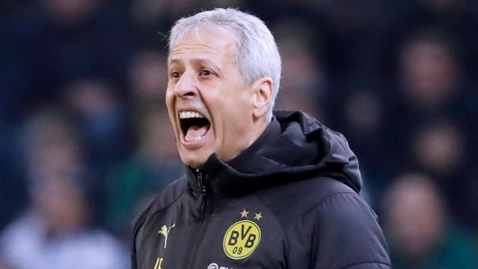 Lucien Favre befindet sich mit Borussia Dortmund auf der Zielgerade der Saison.