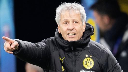 Lucien Favre hat in dieser Saison mit Borussia Dortmund noch drei Spiele vor der Brust.
