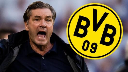 Michael Zorc und der BVB gewannen am Samstag das Topspiel der Bundesliga bei RB Leipzig.