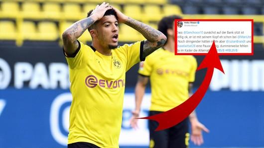 Borussia Dortmund: Die Fans von Manchester United werden von einem Tweet in Aufregung versetzt.