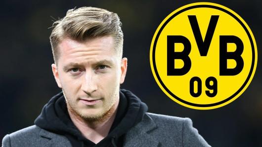 Borussia Dortmund bangt weiter um Kapitän Marco Reus.