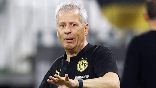 Lucien Favre wurde mit Borussia Dortmund in zwei Spielzeiten jeweils Vizemeister.