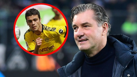 Michael Zorc hält bei Borussia Dortmund große Stücke auf Giovanni Reyna.