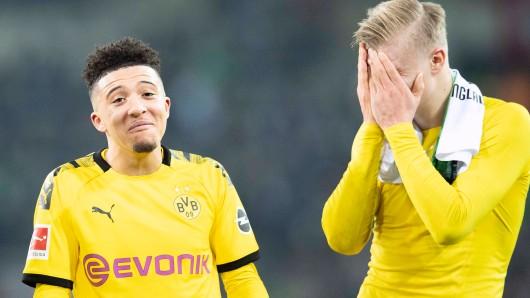 Jadon Sancho und Erling Haaland hatten in dieser Saison bei Borussia Dortmund viel Grund zur Freude.