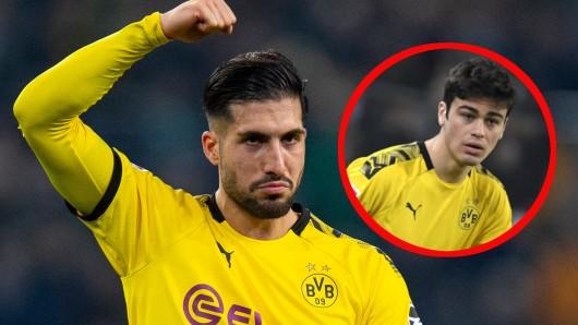 Emre Can und Giovanni Reyna zählen bei Borussia Dortmund zu den Gewinnern der Saison.