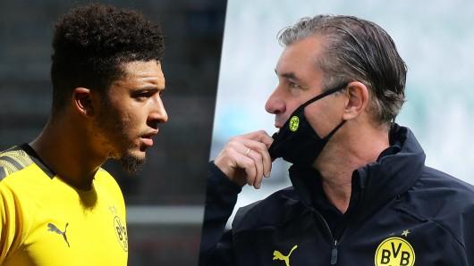 Borussia Dortmund hat Jadon Sancho eine Frist für seine Zukunfts-Entscheidung gesetzt.