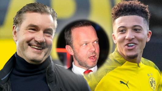 Borussia Dortmund: Bei der Ablöse für Jadon Sancho liegen BVB und Manchester United Lichtjahre auseinander.