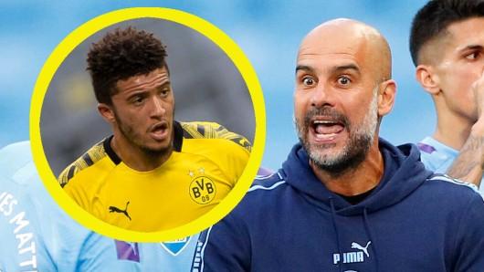 Pep Guardiola hat eine klare Meinung zu BVB-Star Jadon Sancho.