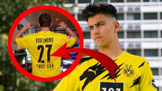 Ein Fan von Borussia Dortmund hat sich schnell das neue Trikot gekauft – zu schnell.