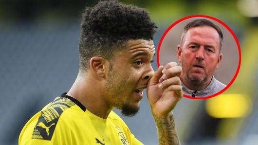 Borussia Dortmunds Star Jadon Sancho - hatte sein Jugendtrainer Steve Eyre einen Anteil, dass der BVB sich das Supertalent schnappen konnte.