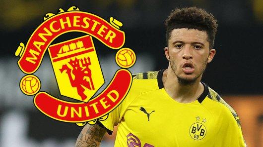 Liegt die Zukunft von Jadon Sancho bei Manchester United oder bei Borussia Dortmund?