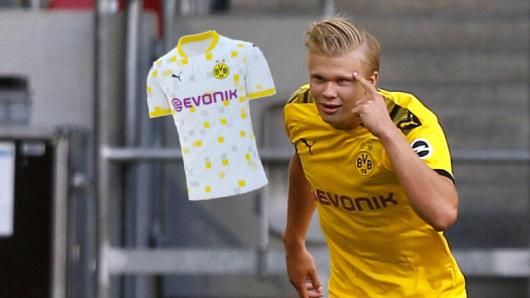 Borussia Dortmund sorgt mit einem verrückten Ausweich-Trikot für Aufsehen.