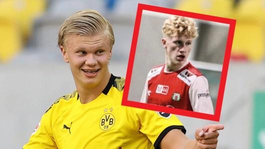 Erling Haaland von Borussia Dortmund hat einen treffsicheren Cousin.