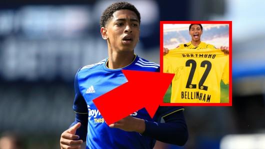 Jude Bellingham trägt bei Borussia Dortmund die 22. Die Begründung verwirrt.