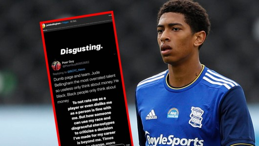 Borussia Dortmund: Bellingham wird im Internet übel beleidigt.