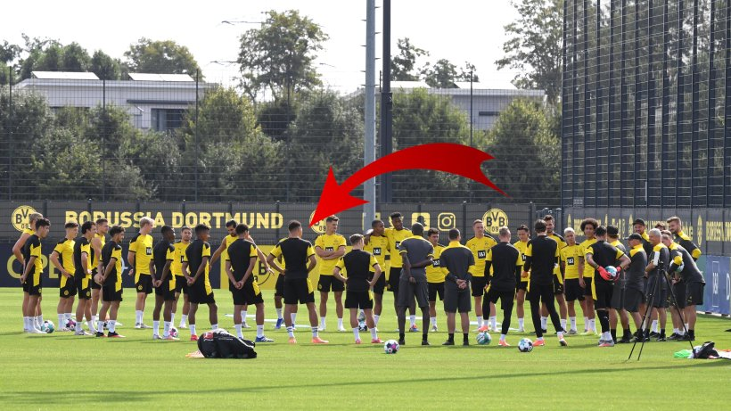 Borussia Dortmund Personal Hammer Now He Is Also Training