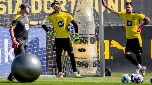 Borussia Dortmund: Bei den Torhütern fehlte heute ein junges Talent.