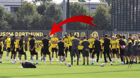 Borussia Dortmund: Überraschung beim BVB-Auftakttraining!