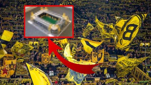 Borussia Dortmund: So hast du den Signal Iduna Park noch nicht gesehen.