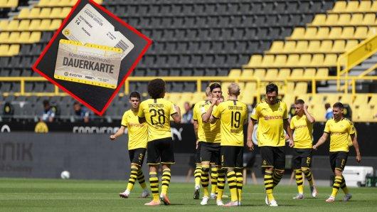 Borussia Dortmund informiert Dauerkartenbesitzer über die Pläne eines Zuschauer-Restarts.