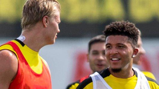 Borussia Dortmund: Wird Sancho auch in den kommenden Wochen Mit Erling Haaland und Co. trainieren?
