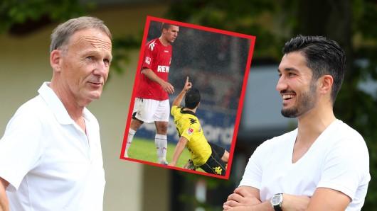Borussia Dortmund: An diese Szene werden BVB-Geschäftsführer Hans-Joachim Watzke und Nuri Sahin sich bestimmt noch gut erinnern.