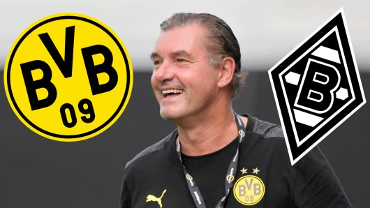 Borussia Dortmund trifft am Samstagabend auf Borussia Mönchengladbach.