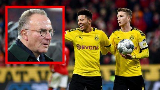 Deutscher Meister Borussia Dortmund? Bayern-Boss Karl-Heinz Rummenigge sieht beim BVB einen Vorteil im Titelrennen.