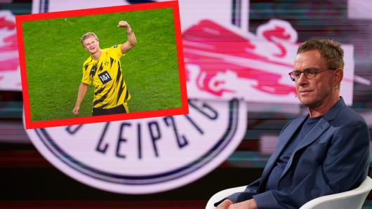 Ralf Rangnick erklärt, warum RB Leipzig im Winter den Poker um Erling Haaland gegen Borussia Dortmund verlor.