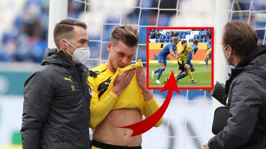 Borussia Dortmund in Hoffenheim: DIESE Szene erhitzt die Gemüter.