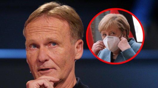 Borussia Dortmund: Hans-Joachim Watzke mit deutlichen Worten in Richtung Angela Merkel.