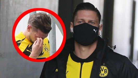 Borussia Dortmund bangt um Lukasz Piszczek. So geht es ihm am Tag nach dem Augen-Schock.