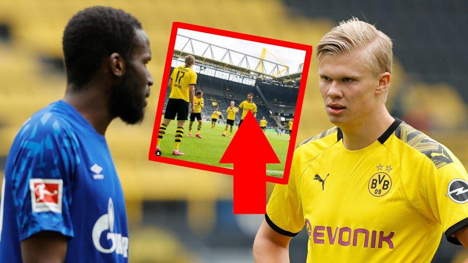 Borussia Dortmund teilt ein Derby-Foto – und löst damit Wehmut bei seinen Fans aus.