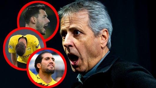 Bei Borussia Dortmund haben sich aus dem Nichts zahlreiche Probleme aufgetürmt.