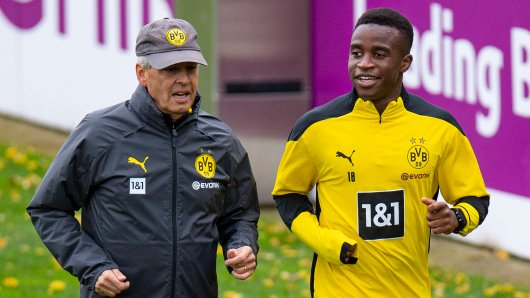BVB: Nimmt Trainer Lucien Favre Youssoufa Moukoko mit nach Berlin?
