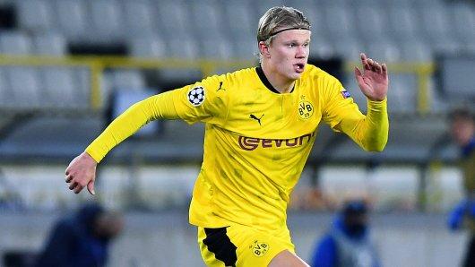 Borussia Dortmund: Große Ehre für Erling Haaland.