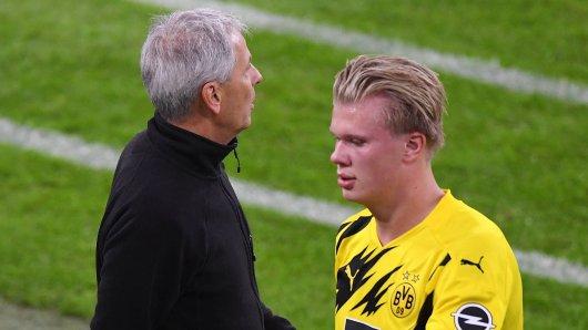BVB: Haaland hatte eine Botschaft für seinen Trainer.