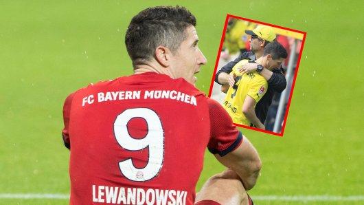 Borussia Dortmund: Lewandowski erinnert sich an seine Zeit beim BVB.