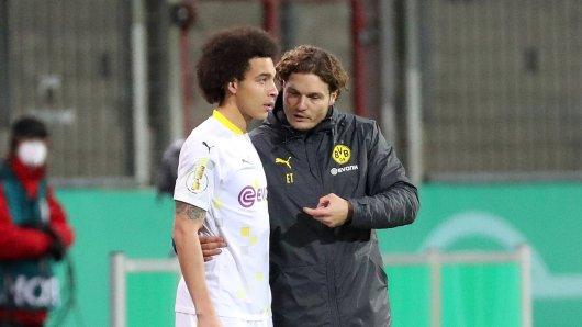 Borussia Dortmund: Durch die Verletzung von Axel Witsel ändert sich einiges für die Mannschaft und Trainer Edin Terzic.