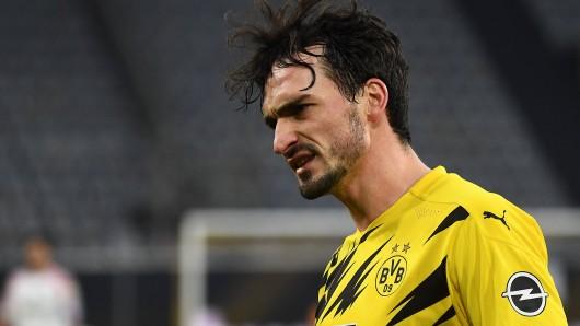 BVB-Star Mats Hummels ist nach der Pleite gegen Leverkusen angefressen.