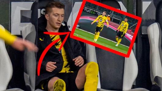 BVB-Kapitän Marco Reus ließ seinem Frust freien Lauf – es wäre fast schief gegangen.