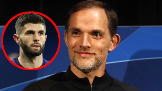Ex-BVB-Trainer Thomas Tuchel übernimmt offenbar den FC Chelsea und trifft dort auf Christian Pulisic, mit dem er bereits bei Borussia Dortmund zusammen arbeitete.